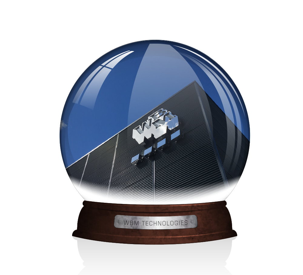 Snow Globe showing WBM Regina