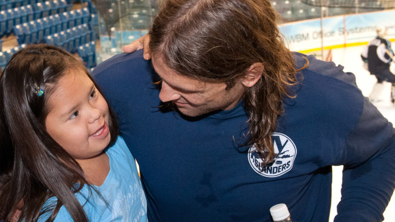 WBM Connects NHL Players to the Children of Local Communities