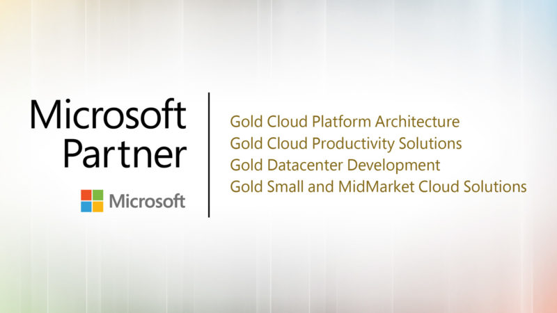 WBM Technologies Achieves Multiple Gold Level Certifications in Microsoft Cloud & DataCenter Solutions