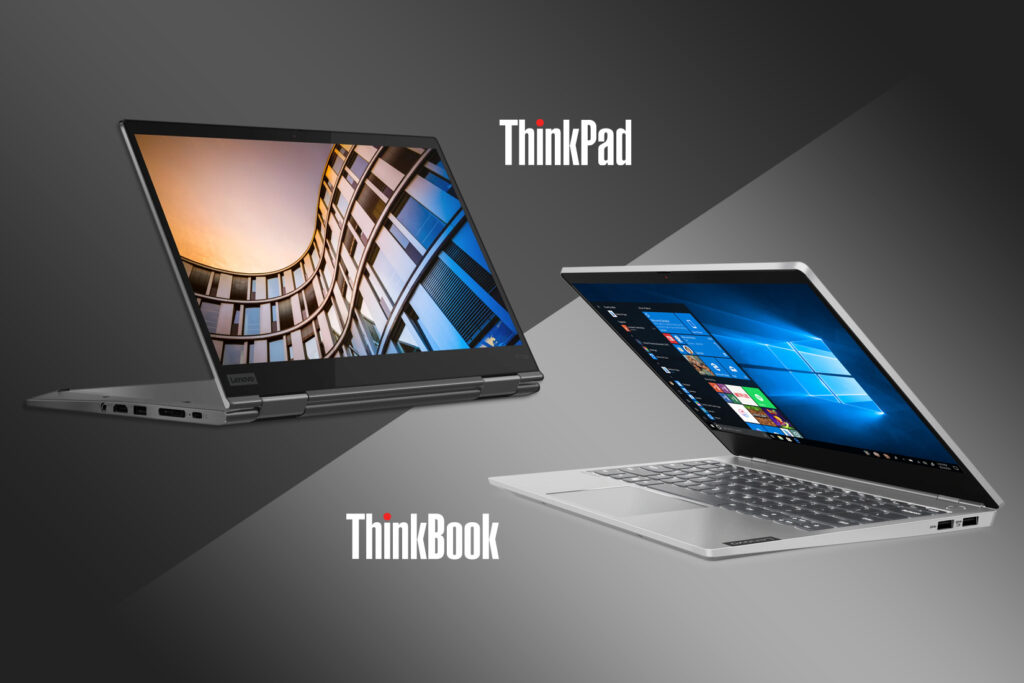 Business Laptops Compared: Lenovo ThinkPad vs ThinkBook – Featured Image