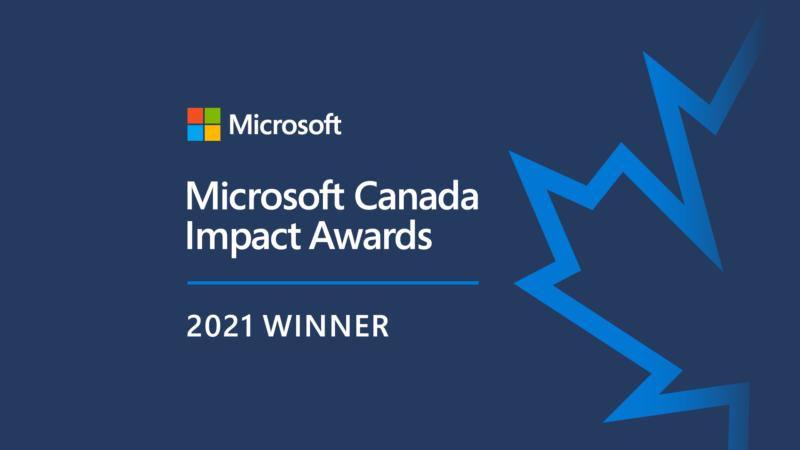 Microsoft Canada Recognizes WBM Technologies as Winner of the 2021 Modern Workplace Impact Award